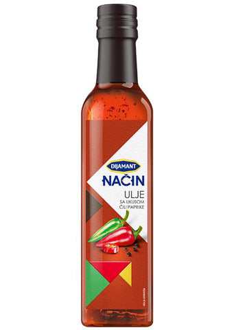 Dijamant NACIN - Chili paprika oil 250ml