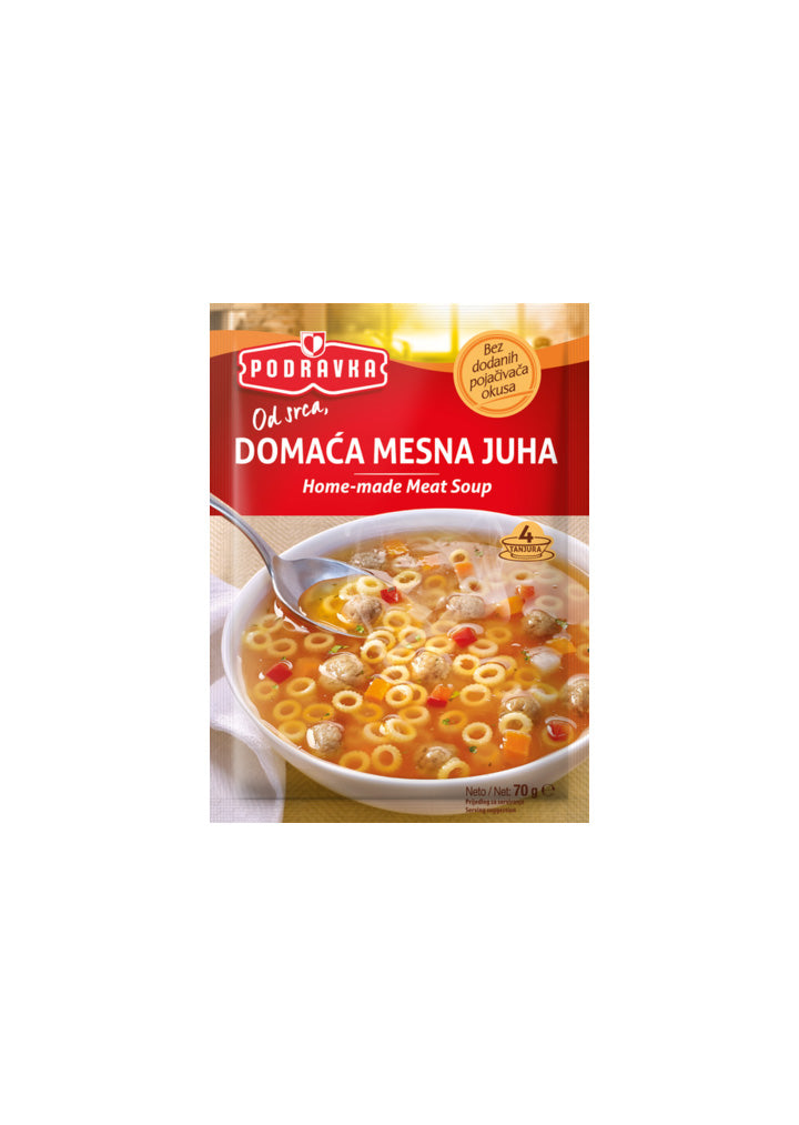 Podravka - Home - made meat soup 70g