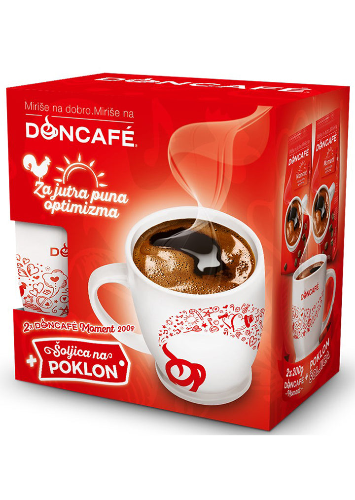 Doncafe - Moment gift set 2 x 200g