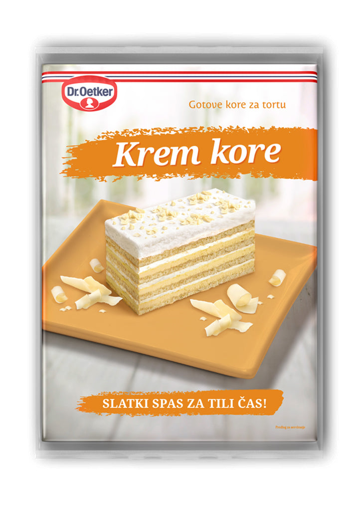 Dr.Oetker - Cream cake wafers 440g