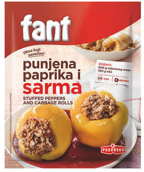 Podravka - Fant seasoning mix for stuffed peppers and cabbage 60g