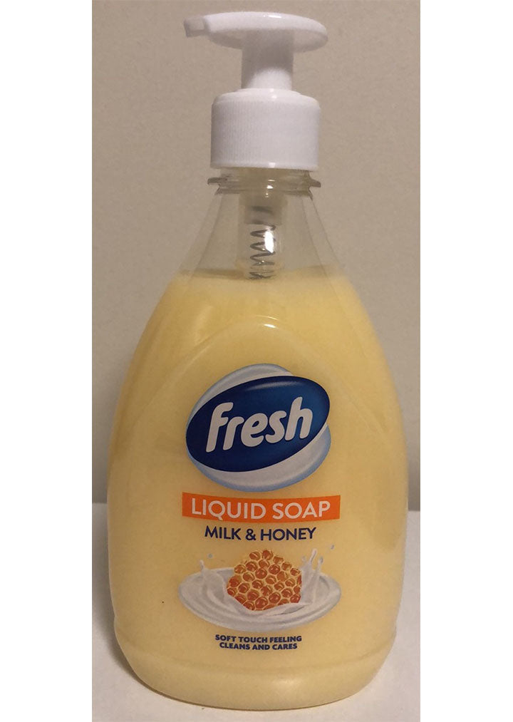 Fresh - Liquid soap milk & honey 500ml