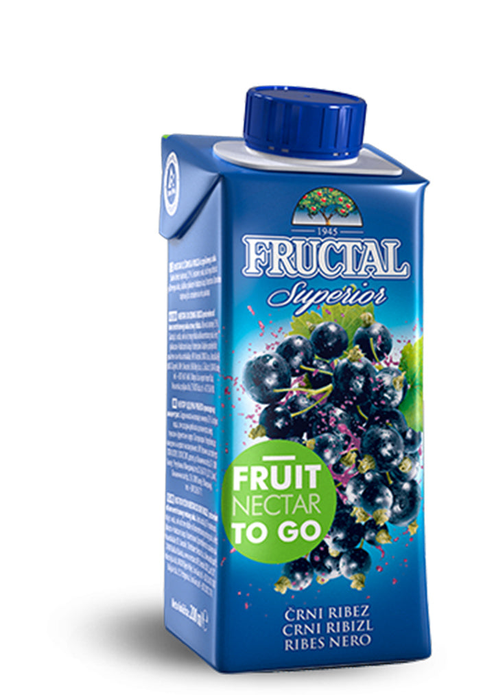 Fructal - Juice blackcurrant superior 200ml