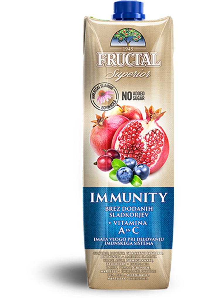 Fructal - Immunity  A in C juice superior 1L