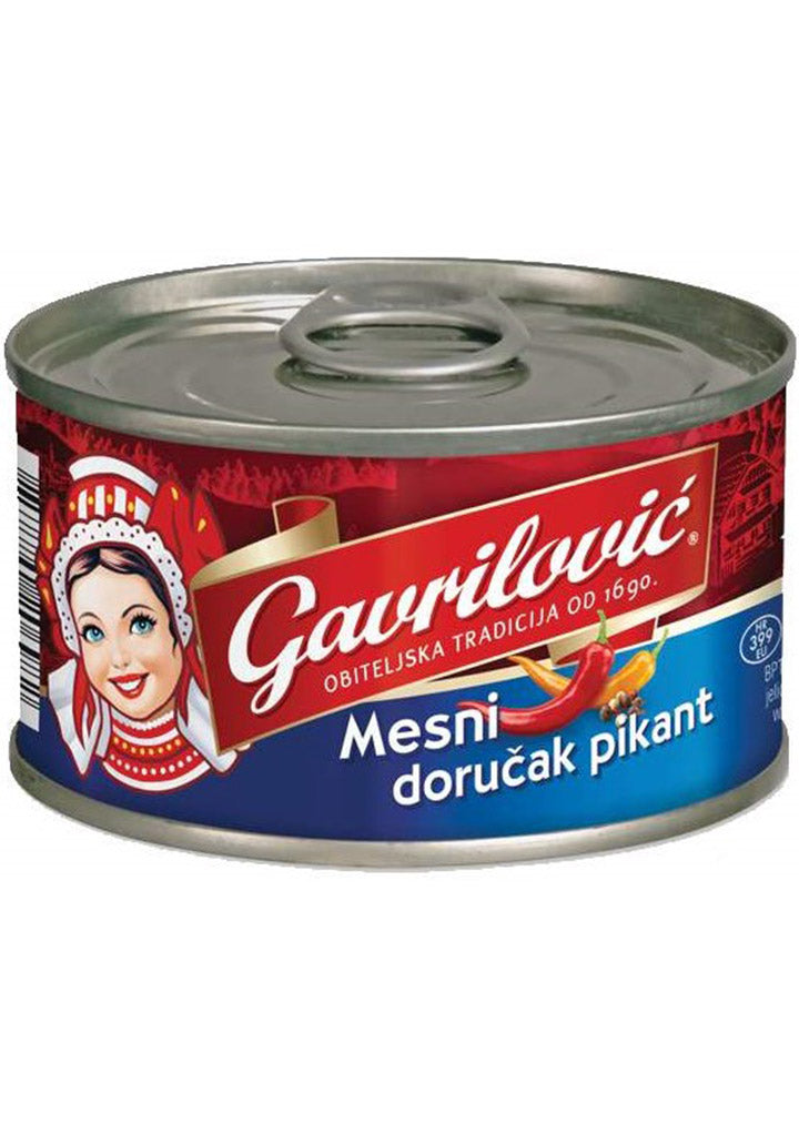 Gavrilovic - Luncheon Meat Piquant Breakfast 150g