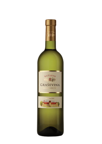 Kutjevo - Grasevina Dry white wine 12.5% vol. Alcohol 750ml
