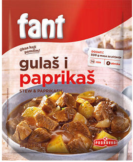 Podravka - Fant seasoning mix for stews and paprikash 65g