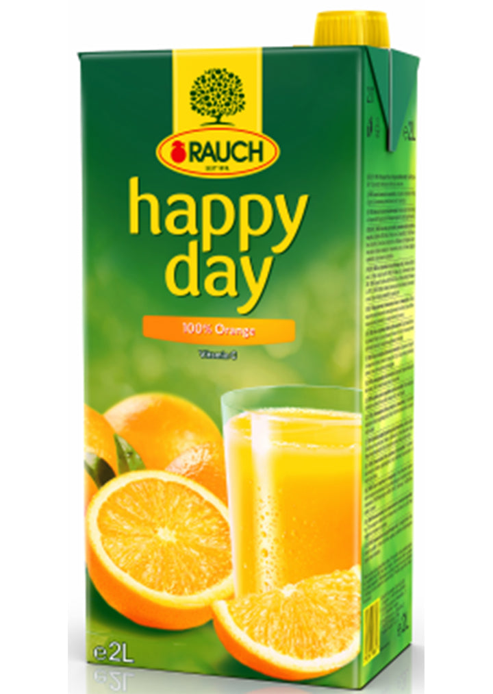 Rauch - Happy day 100% Orange 2l