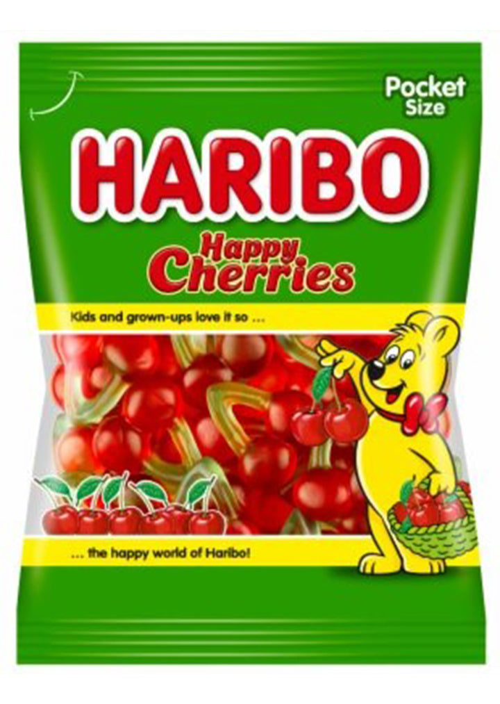HARIBO - Happy Cherries fruit gummy candies 100g