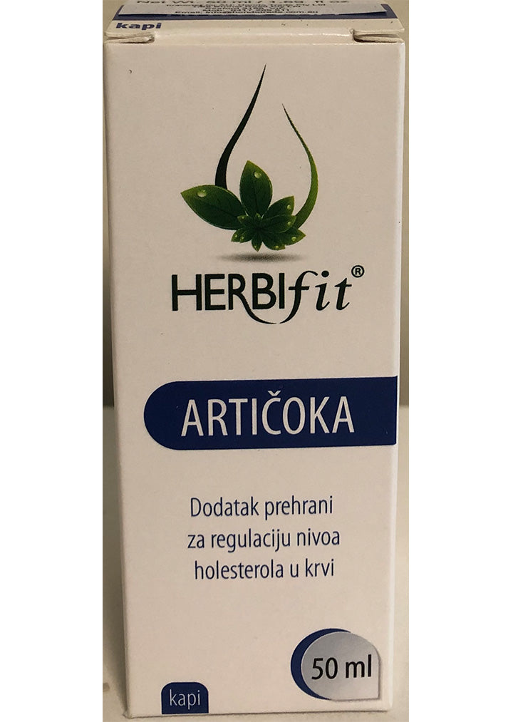 Herbifit - Artichoke herbal drops 50ml