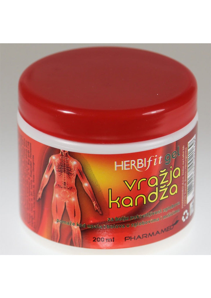 Herbifit - Vrazja kandza (Devil's claw)gel 200ml