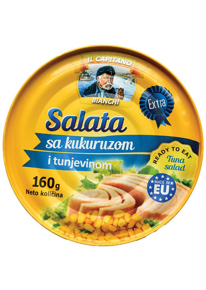 Il Capitano Bianchi - Tuna salad with corn 160g