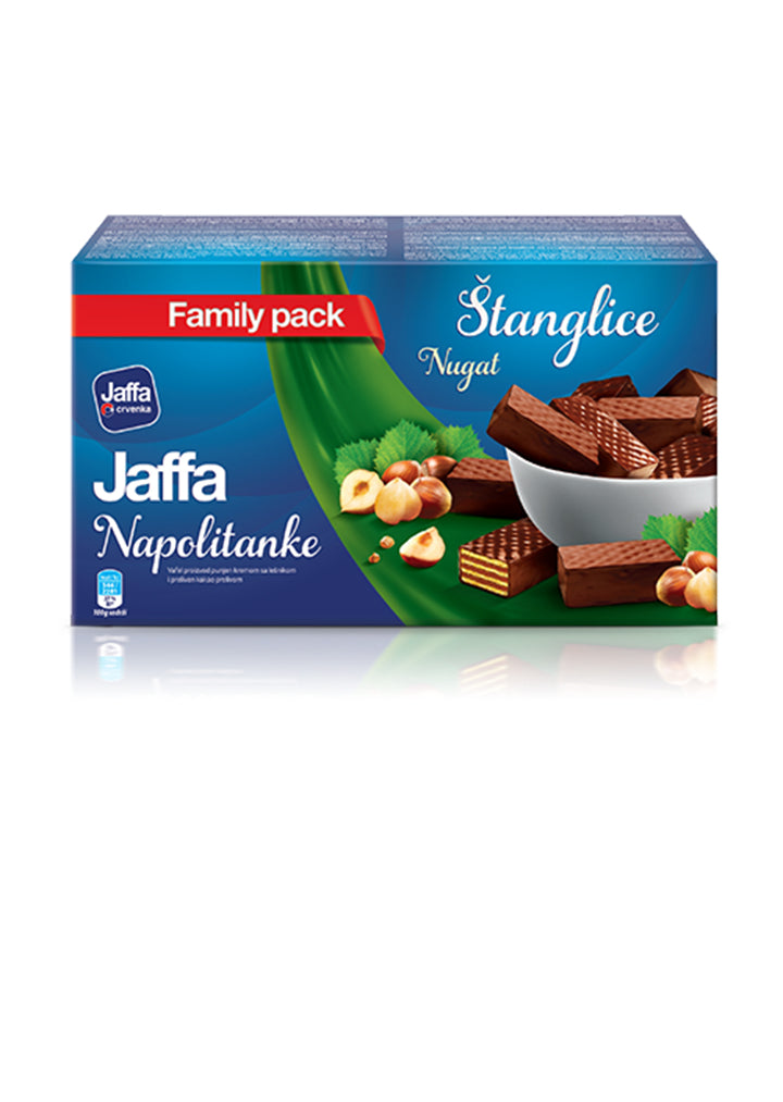 Jaffa - Wafer with nougat filling 360g Stanglice