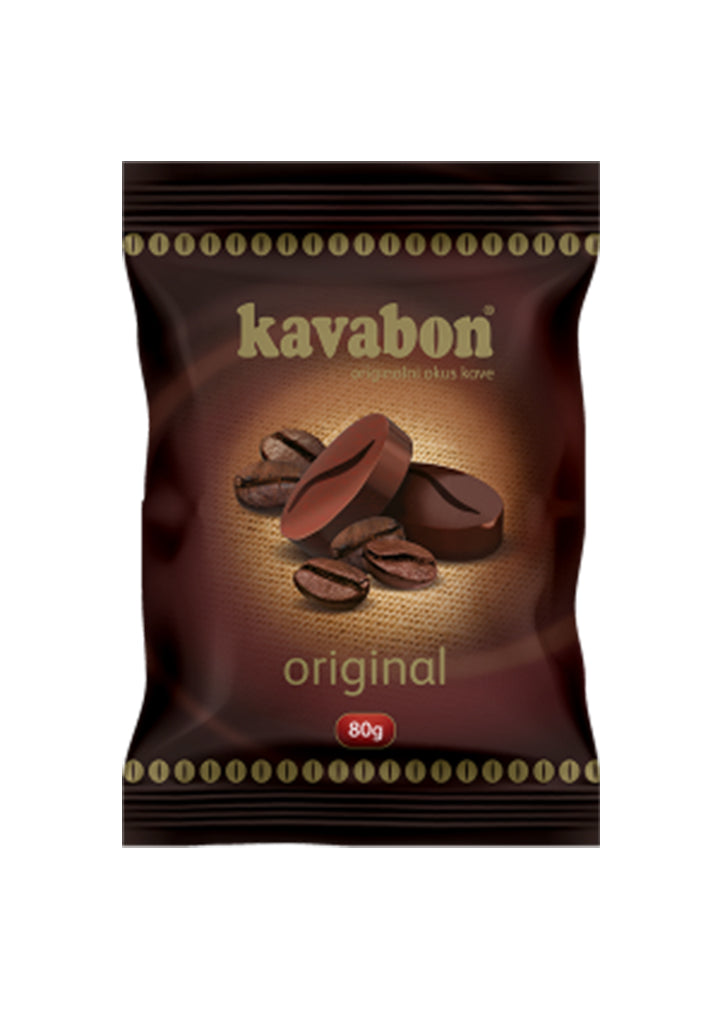 Kavabon candies with aroma coffee 80g