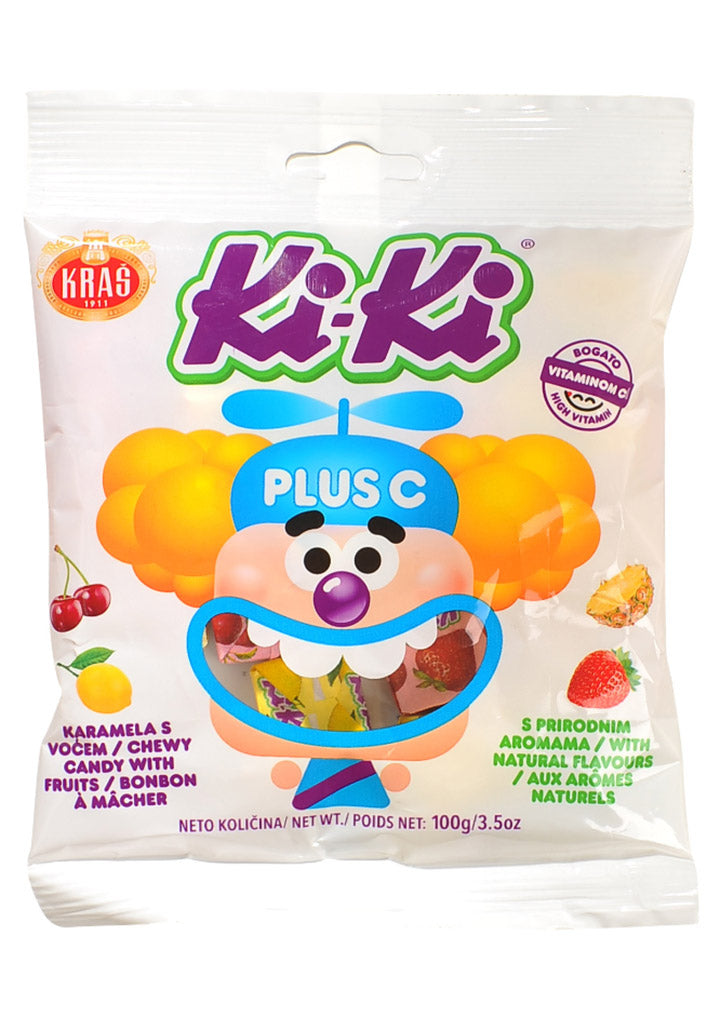 Kras - Ki-Ki toffee candy Plus C 100g