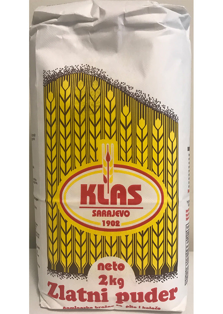 Klas - T-400 Wheat flour for pies and cakes 2Kg
