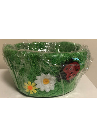 Easter - Basket small green