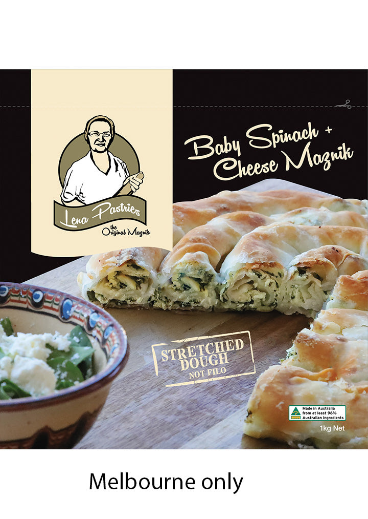 Lena Pastries - Baby spinach & cheese maznik 1Kg