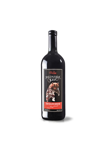 Rubin - Medvedja krv red wine 11.5% vol. Alcohol 750ml