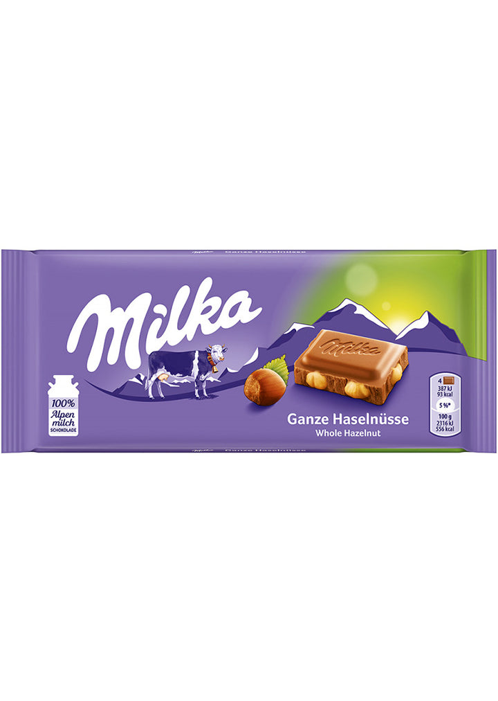 Milka - Whole nuts 100g