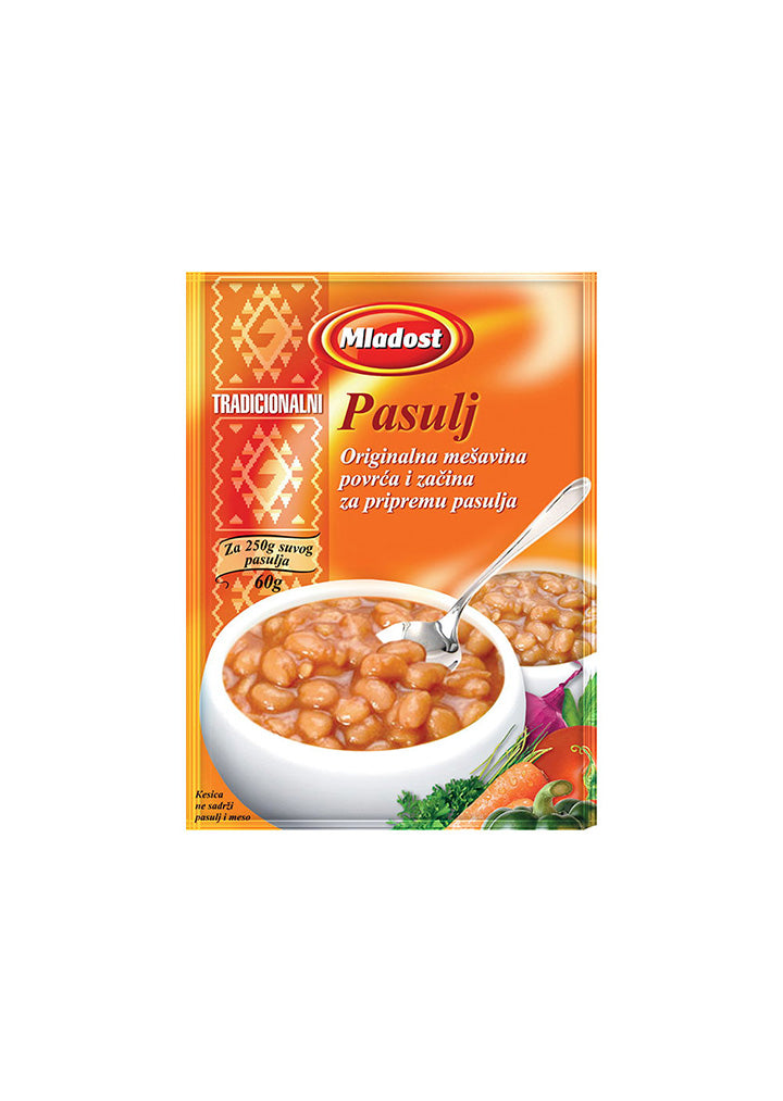 Mladost - Seasoning mix for beans 60g