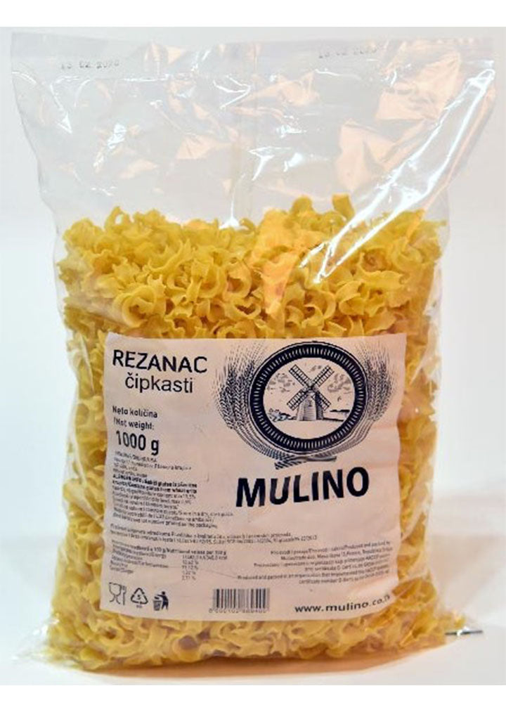 Mulino - Home made ruffled pasta with eggs 1Kg