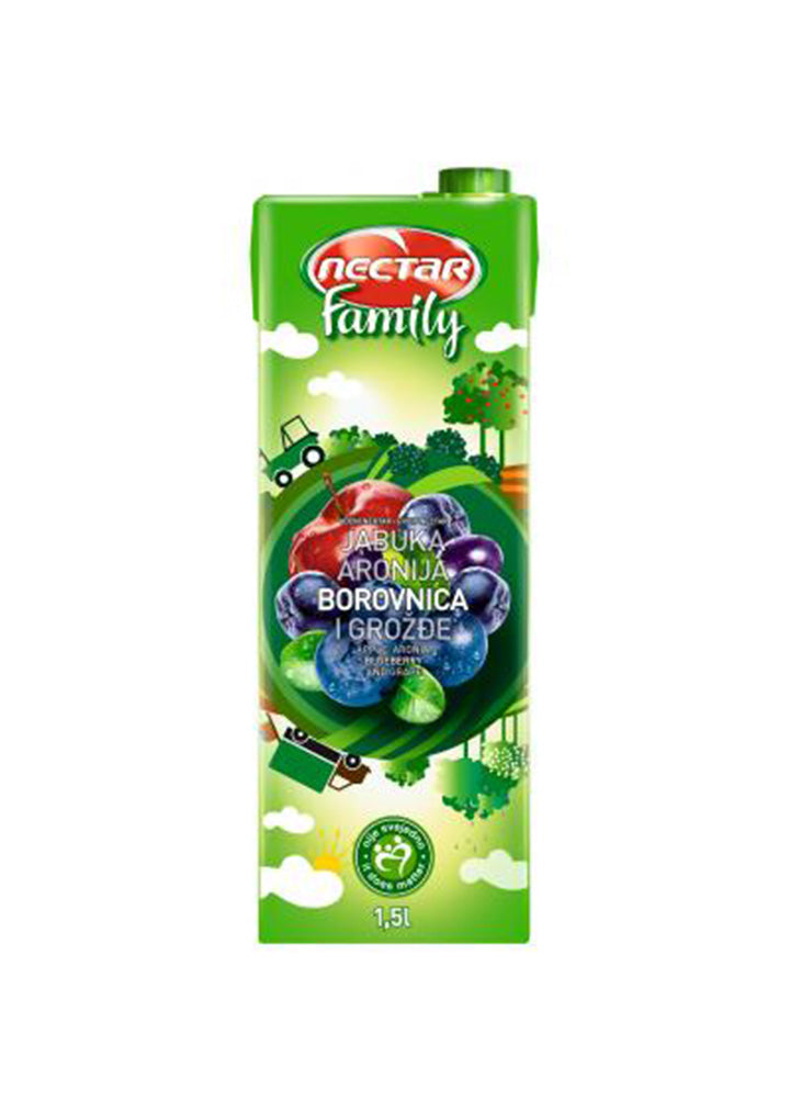Nectar - Family blueberry  juice 1.5L