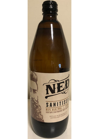 Ned - Sanitiser 65% alcohol 750ml