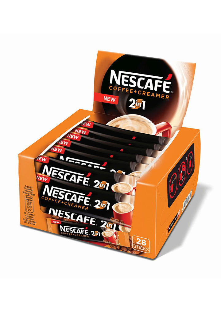 Nescafe - 2 in 1 Coffee & creamer 28 sticks