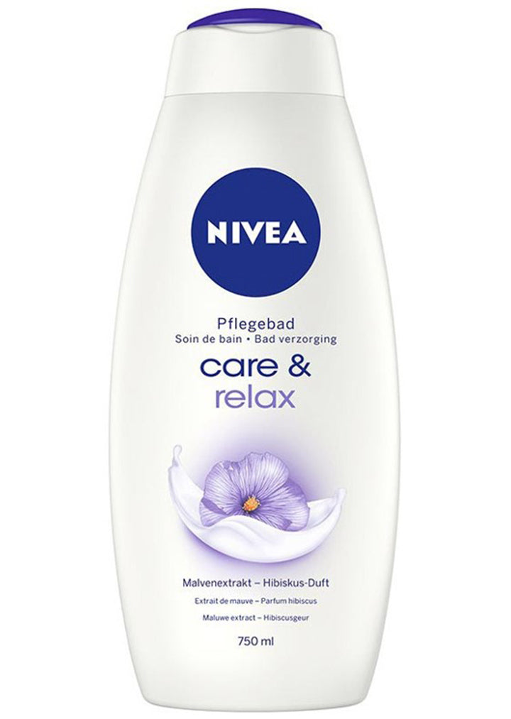 Nivea - Bath cream care & relax 750ml