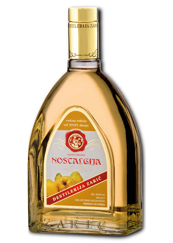 Zaric - Nostalgija Quince brandy 40% vol. Alcohol 700ml