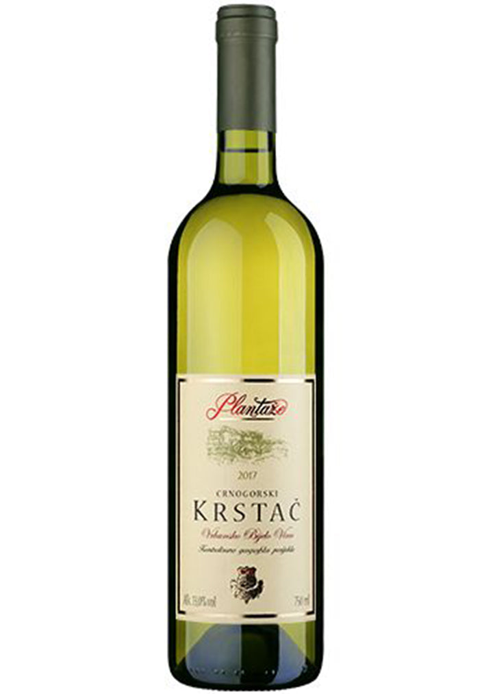 Plantaze -  Krstac white wine 13% vol. Alcohol 750ml