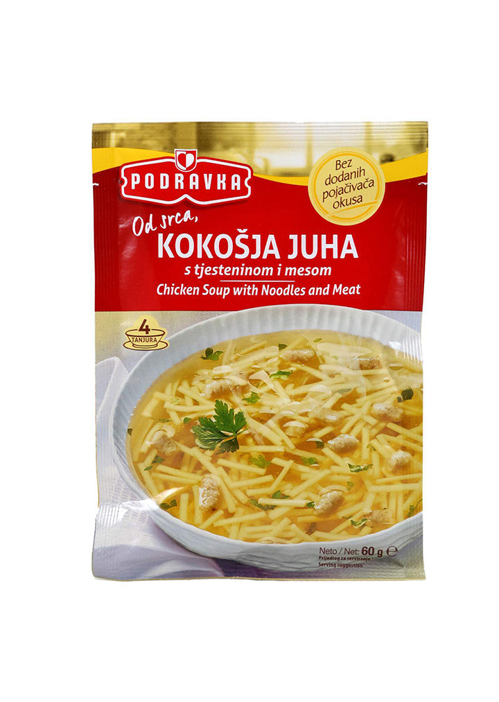 Podravka - Chicken soup with noodles and meat 60g