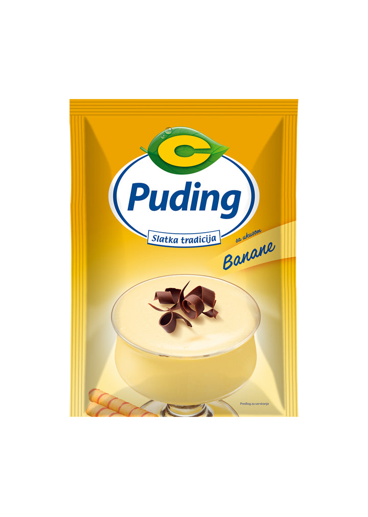 C proizvod - Banana pudding 40g