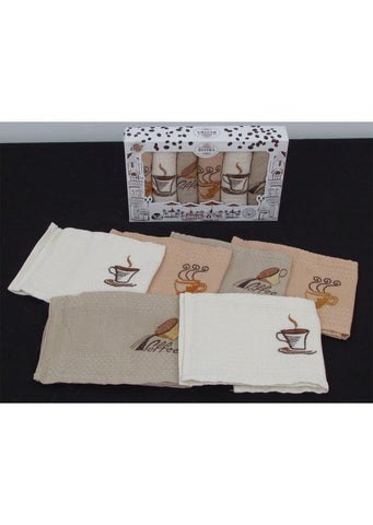 Kitchen towels 6psc 35x50cm