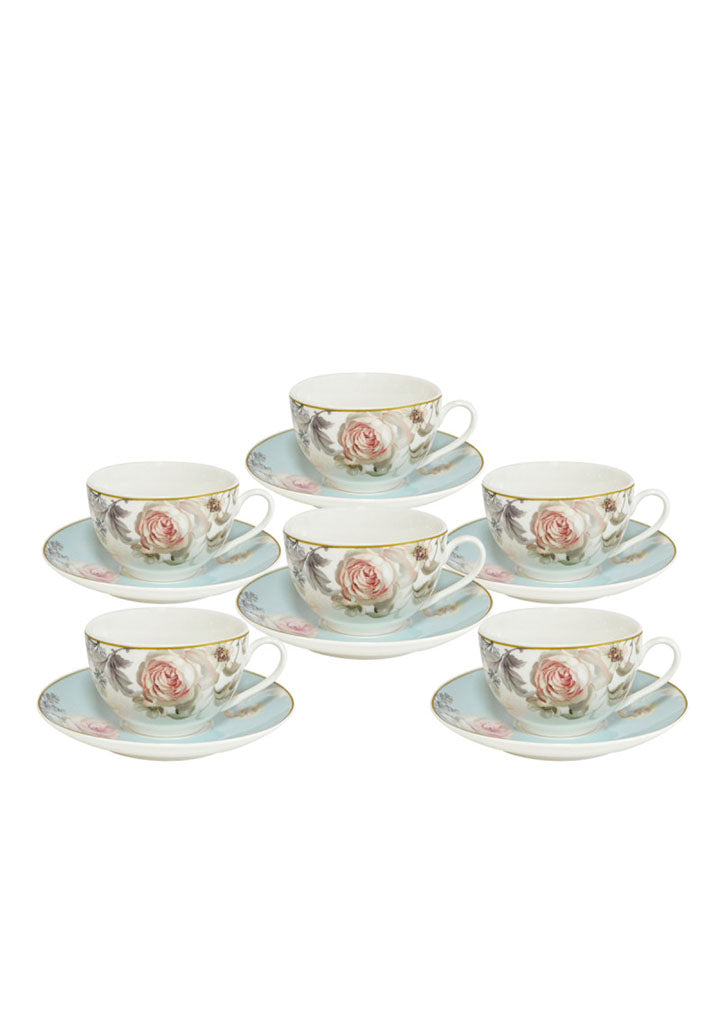 Sigma - Porcelain coffee set 6/1 pcs