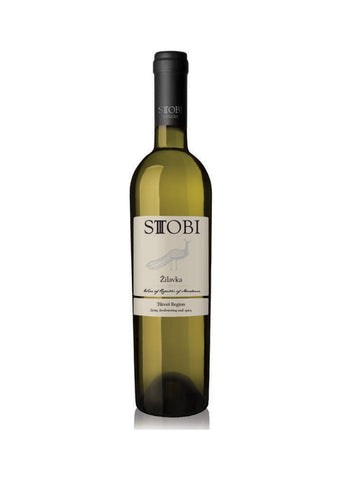 Stobi -  Zilavka Dry white wine 11.50% vol. Alcohol 750ml