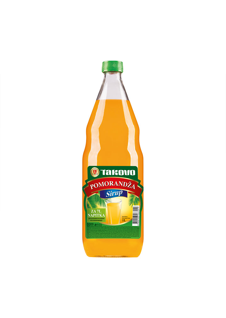 Swissline - Orange syrup juice 1L