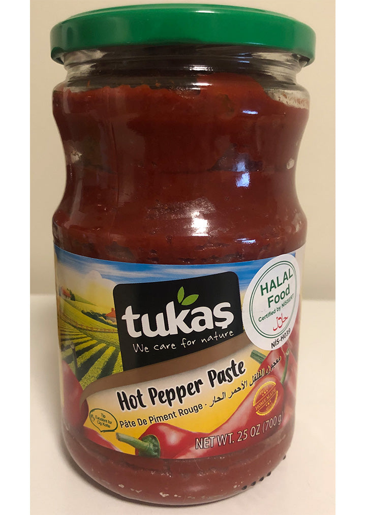 Tukas - Hot pepper paste 700g HALAL