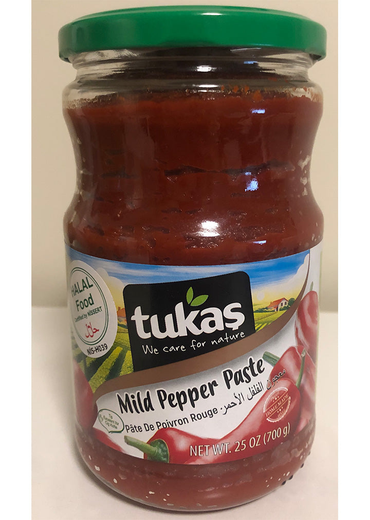 Tukas - Mild pepper paste 700g HALAL