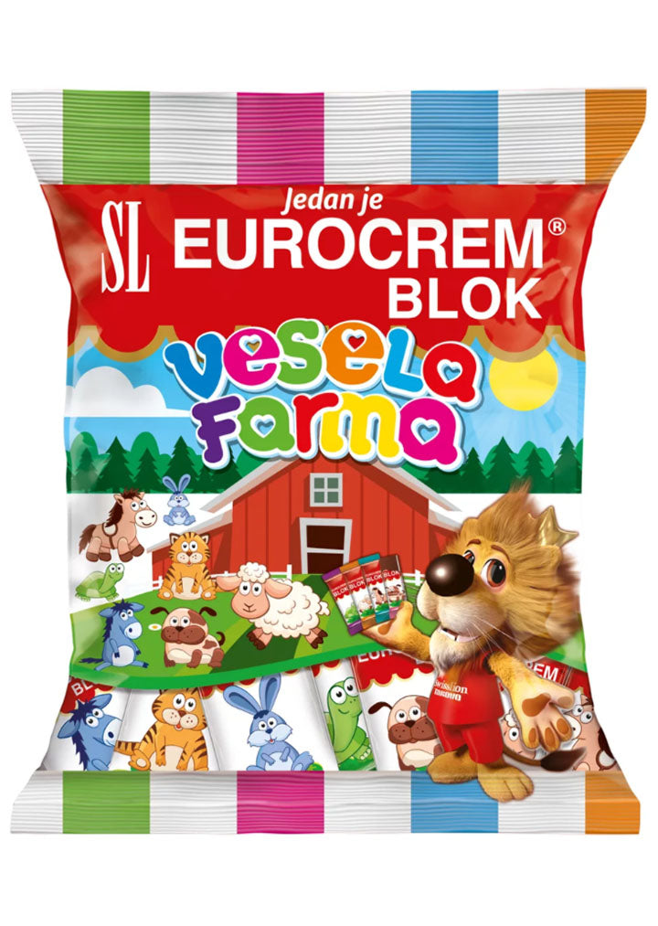 Takovo - Vesela farma (Happy farm) chocolate bars 140g