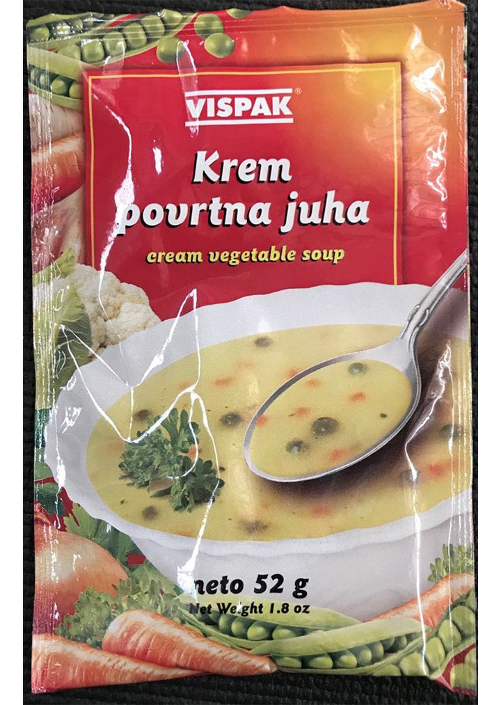 Vispak - Cream soup with vegetables 52g