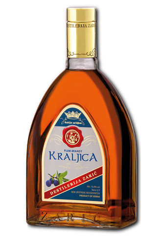 Zaric - Kraljica Plum brandy 42% vol. Alcohol 700ml