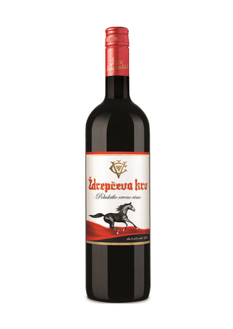 Vino Zupa -  Zdrepceva krv red wine 11% vol. Alcohol 750ml