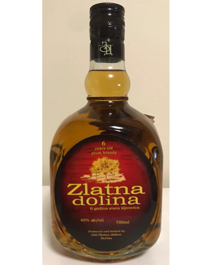 Zlatna Dolina - Plum brandy 40% vol. Alcohol 700ml