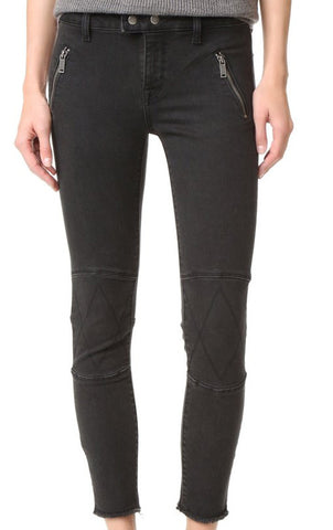 Instasculpt Cropped Moto Denim - Mirage