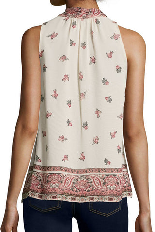 Joie Valles Tank - Almond - Poppy  - 2