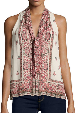 Joie Valles Tank - Almond - Poppy  - 1