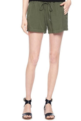 Voile Short - Dusty Olive