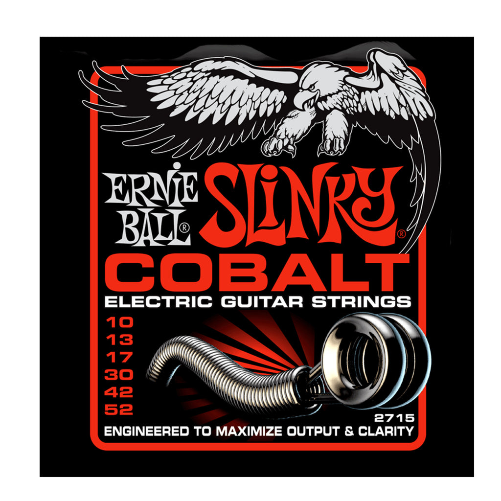 Ernie Ball 2715 Cobalt Skinny Top Heavy Bottom Slinky 10-52